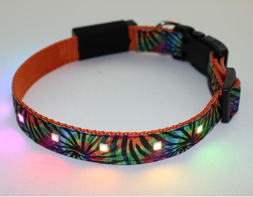 unique LED dog collars