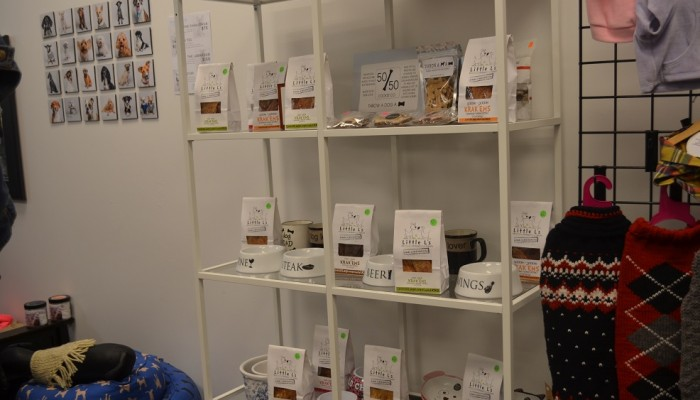 little ls meat only dog treats are available in this nonprofit pet boutique