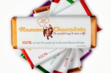 free chocolate gifts for dog lovers